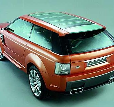 2004 - Range Rover Stormer